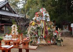 新熊野神社 - 左義長神事1