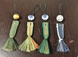 伝統工芸の真田紐を使った小物作りを体験!