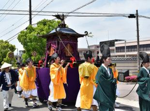 平安時代に始まった、新日吉神宮(いまひえじんぐう)の「新日吉祭」